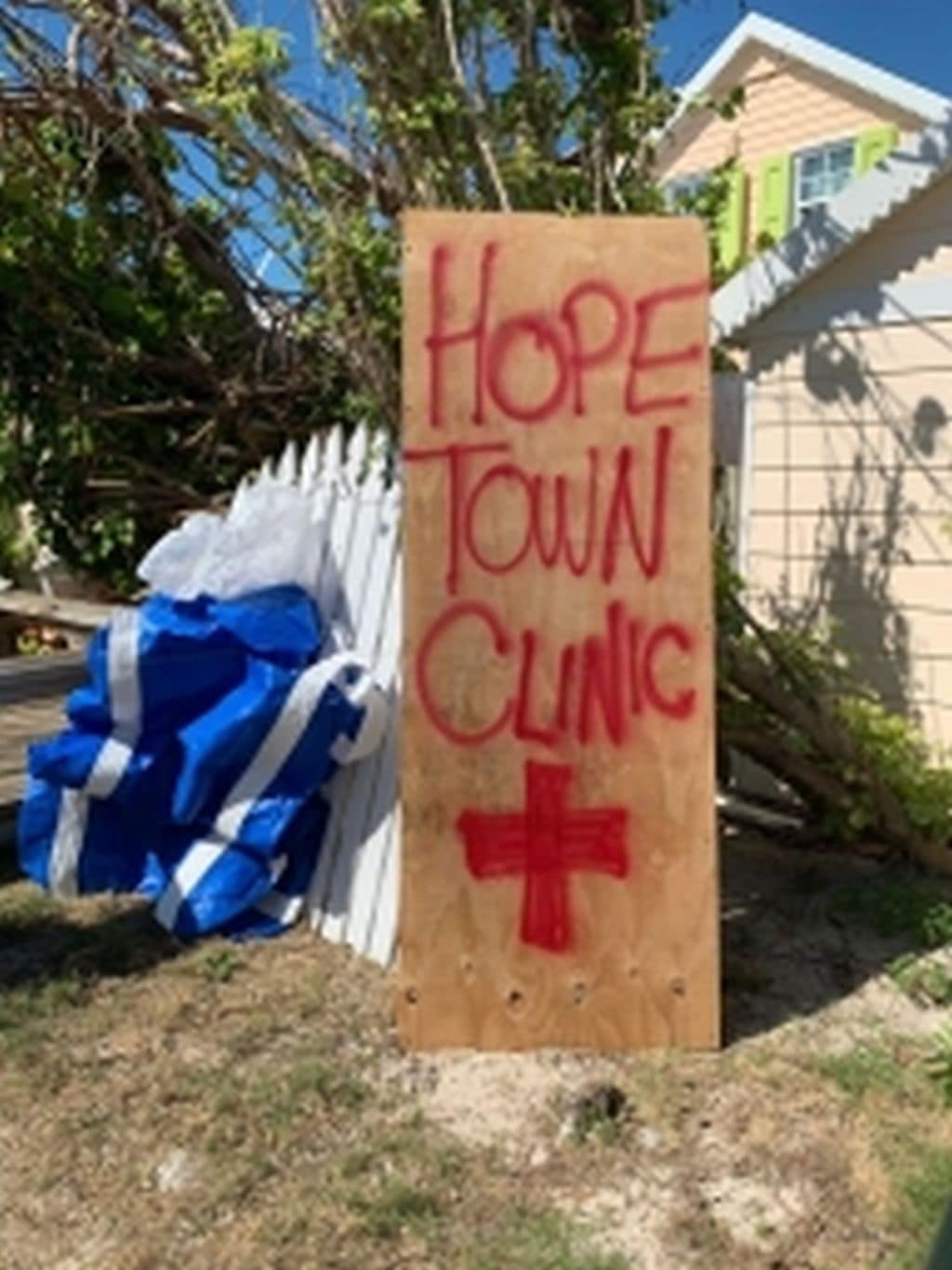 Temporary Hope Town Clinic