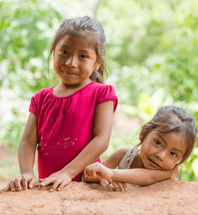 Philippine children playing