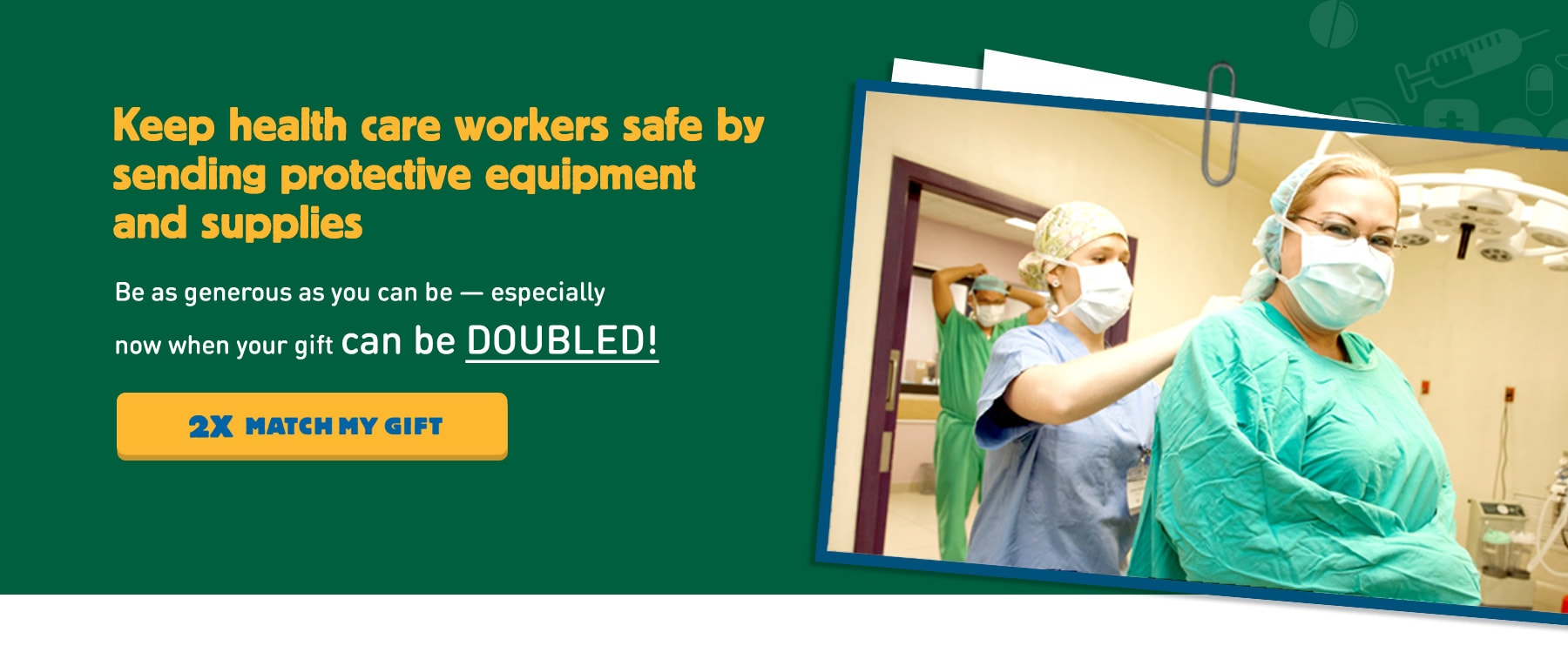 Keep health care workers safe