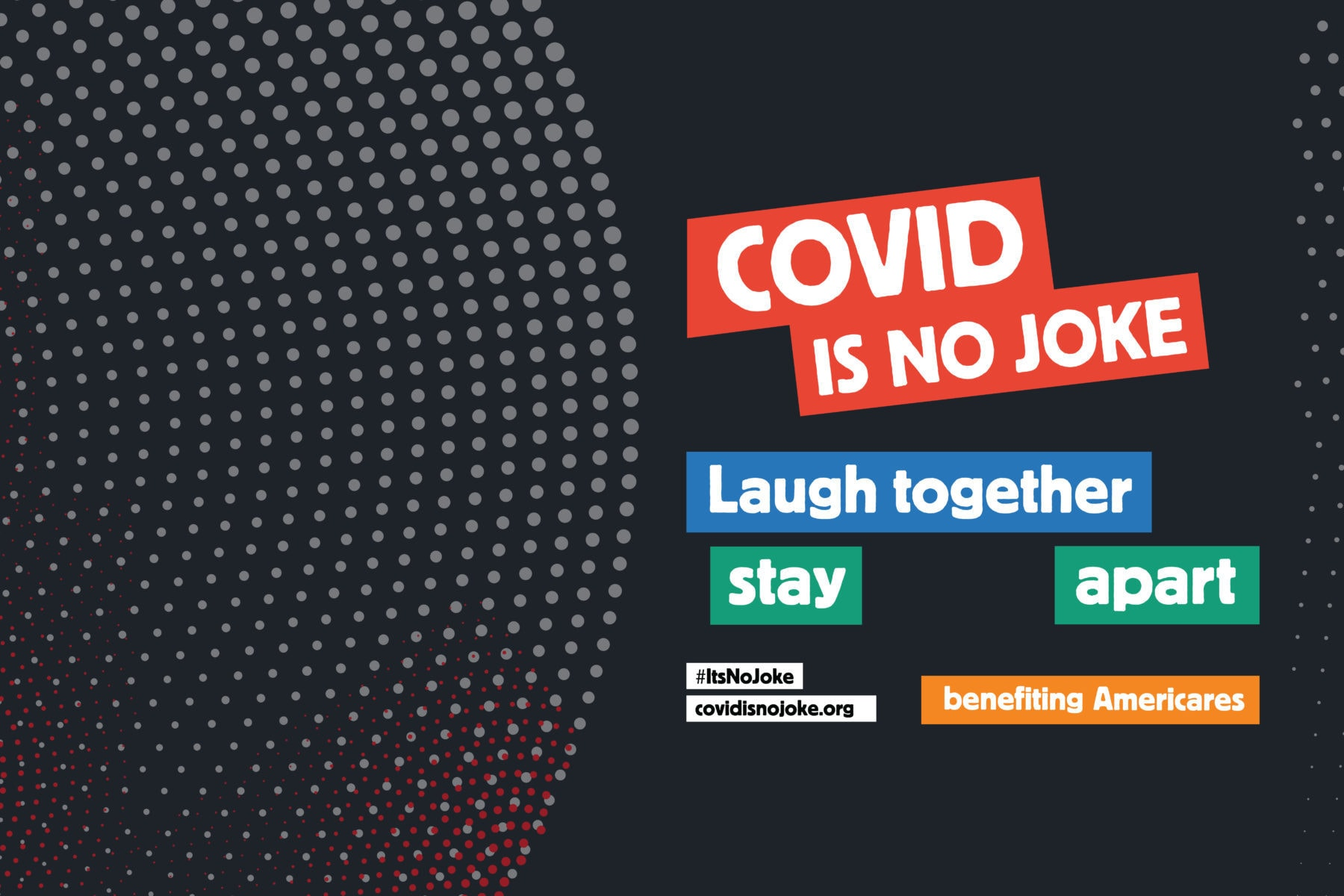 COVID is no Joke comedy fundraiser