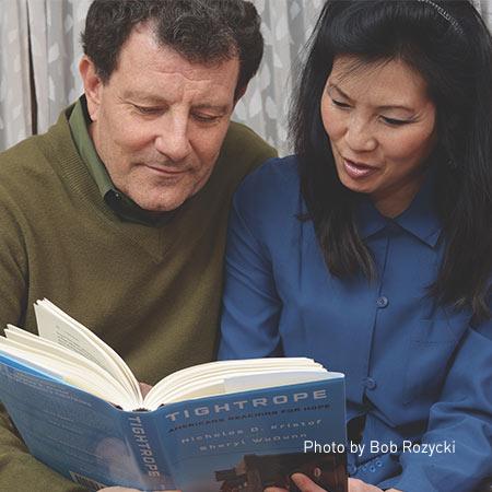 Nicolas Krystof and Sheryl WuDunn