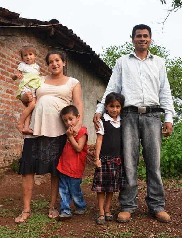 Rural Family in El Salvador