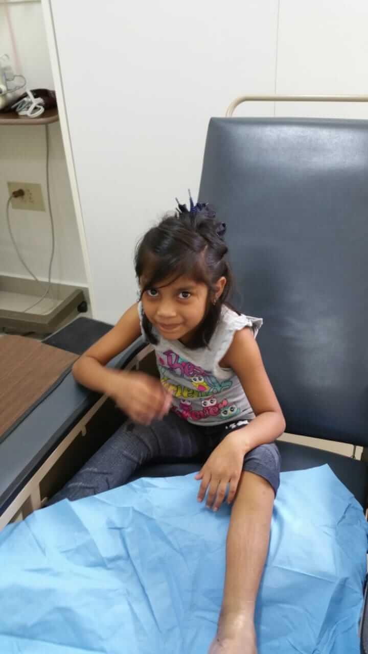 Alejandra after Surgery