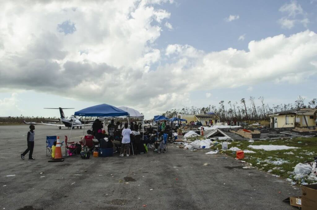 Photo of Aid Delivery to Hurricane Dorian