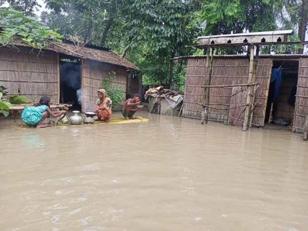 Severe floods in India's Assam State