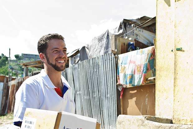 Bryan Hoyer in Haiti