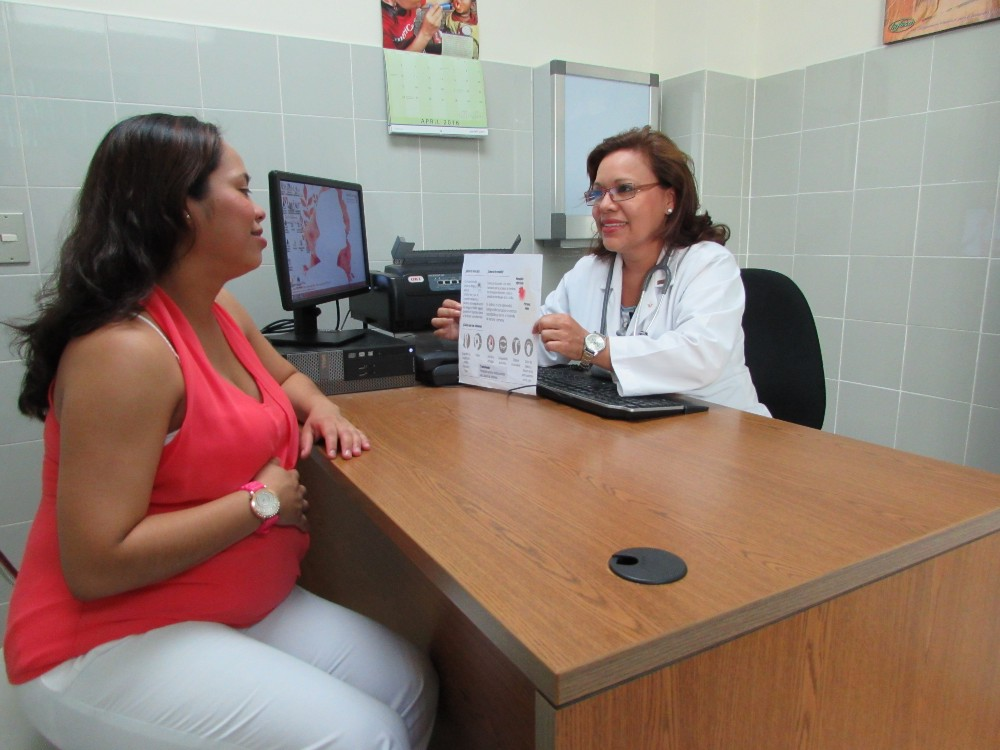 La Clínica Integral de Atención Familiar in Santiago de María provides primary and specialty care services for tens of thousands of patients, including prenatal care.