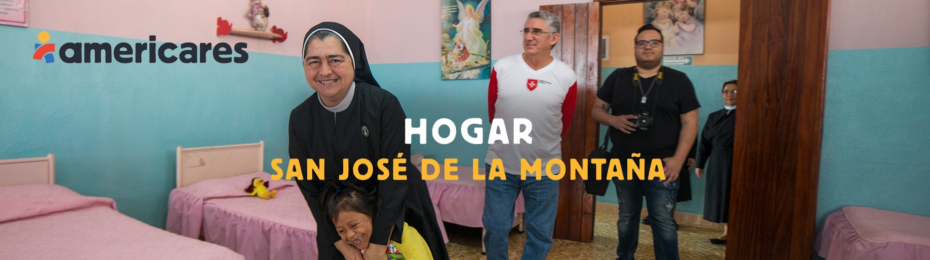 Americares supports the girls and elderly of Hogar San José (Guatemala) with supplies and essentials.
