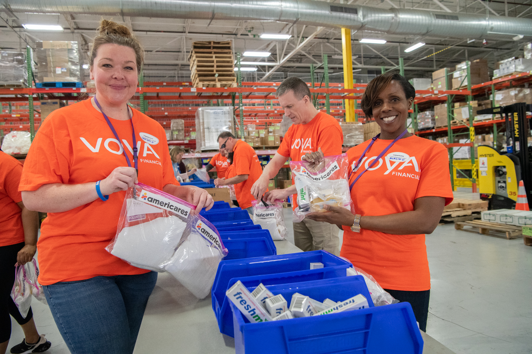 voya volunteers