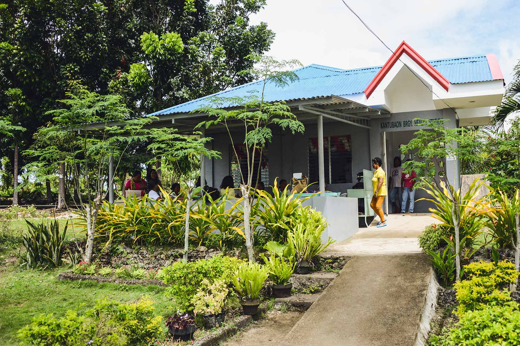 In the Philippines we have helped to rebuild and expand 84 health facilities damaged by Typhoon Haiyan