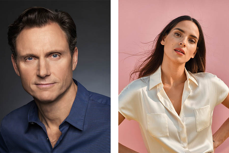 Actors Adria Arjona and Tony Goldwyn will co-host the 2021 Americares Airlift Benefit on Saturday, Oct. 2.